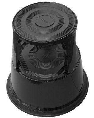 Roll-a-step opstapkruk zwart