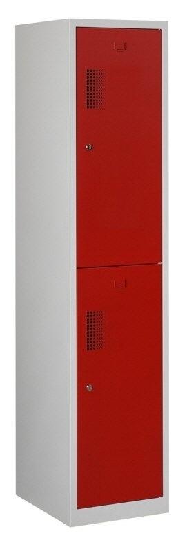 Premium garderobekast 40cm breed, 1-koloms, 2-deurs