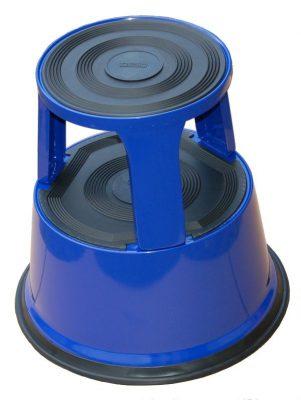 Roll-a-step opstapkruk blauw