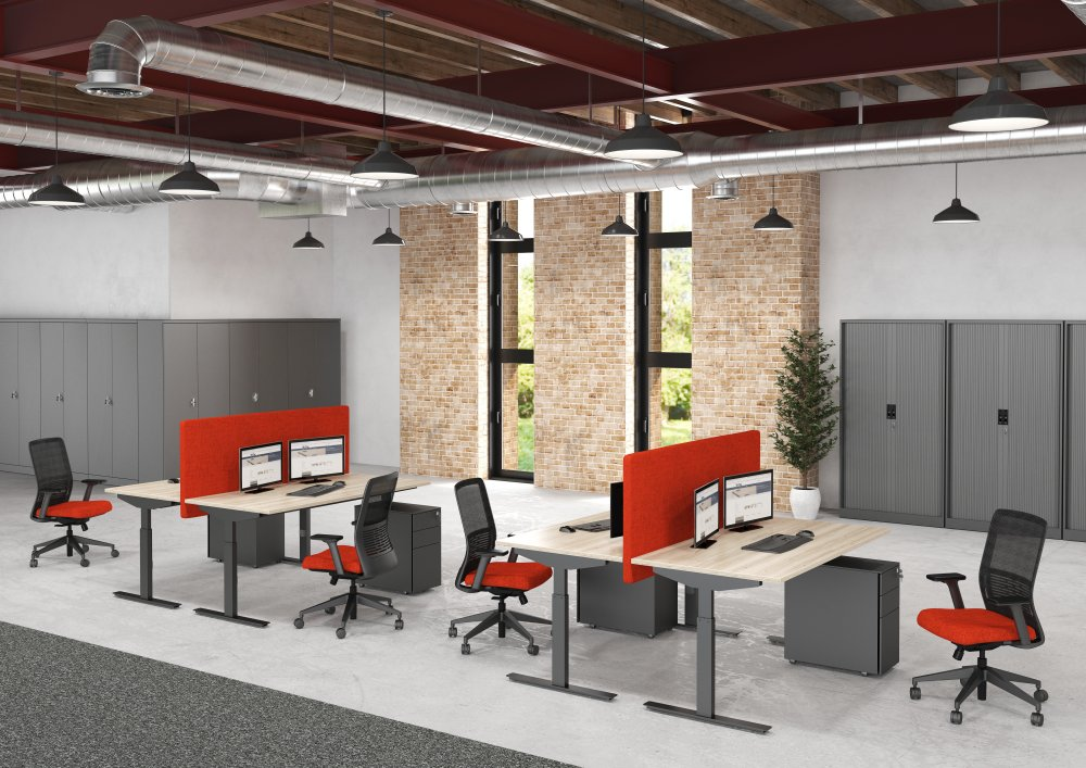 Bureautafels kantoor