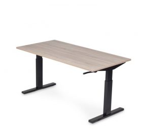 Bureautafel T-poot slinger 160x80cm