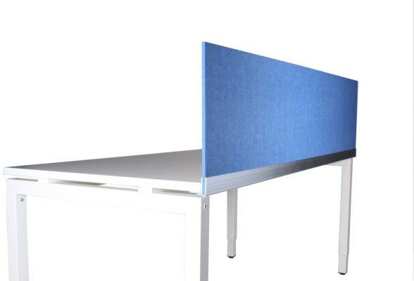 Scheidingswand 9mm kleur Middelblauw