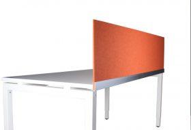 Scheidingswand 9mm kleur oranje