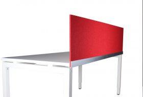 Scheidingswand 9mm kleur Rood