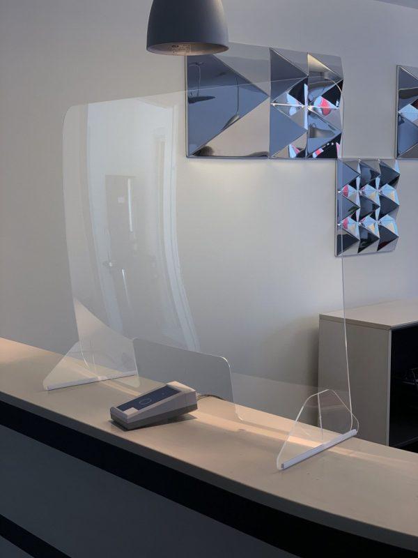 Plexiglas scherm 60x80cm.