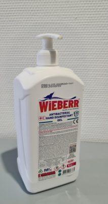 Desinfecterende handgel 1 liter