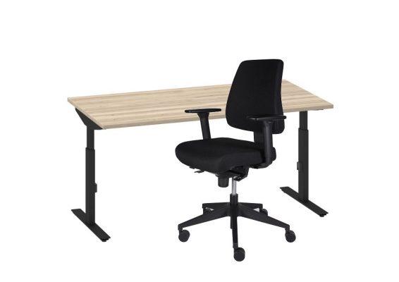 Thuiswerk set bureau + bureaustoel
