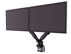Dubbele gasgeveerde monitorarm DES1722-09